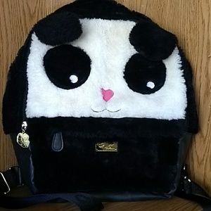 Betsy Johnson panda backpack